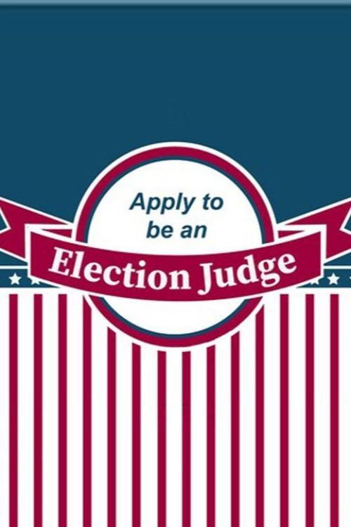Apply to Become an Election Judge